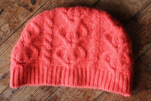 Шапка из старого свитера своими руками пошагово 40