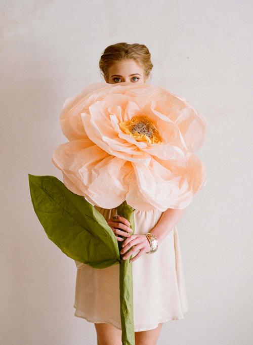 Огромная роза своими руками