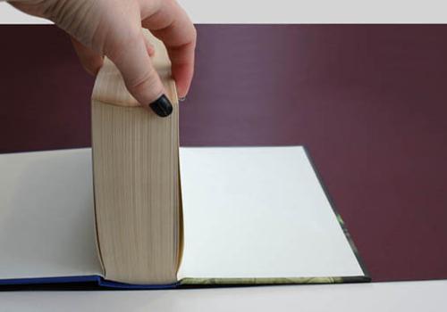 Как сделать книгу из бумаги легко