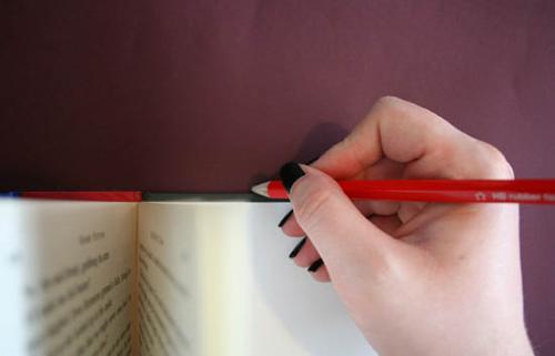 сделать своими руками обложку для книги