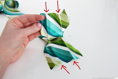 необычный галстук своими руками