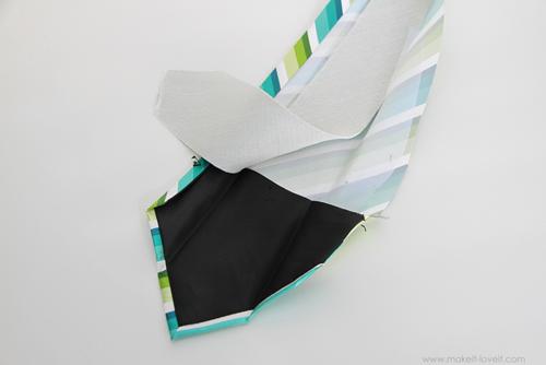 детали детского галстука