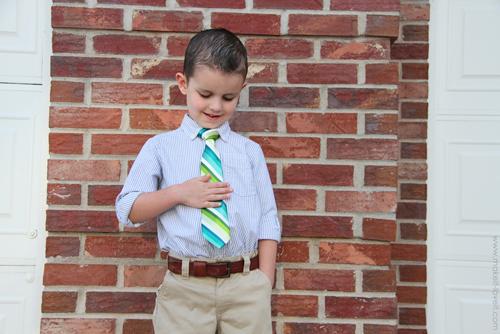 как сделать детский галстук