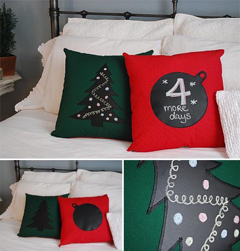 аппликации на подушках своими руками