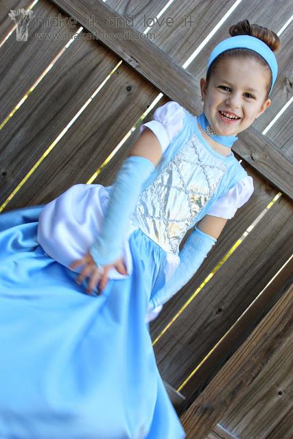 костюм принцессы своими руками