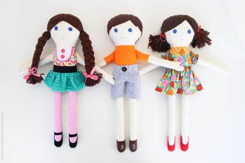 Просто своими руками куклу