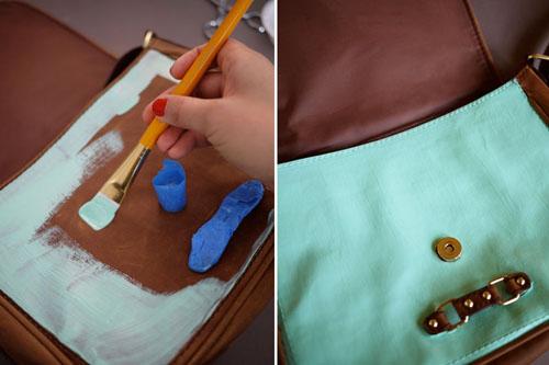 Как обновить ручки у сумки из кожзама своими руками 53