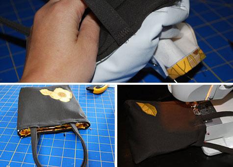 легкая сумка своими руками