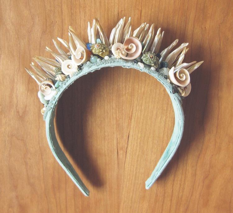 Корона морской царицы своими руками