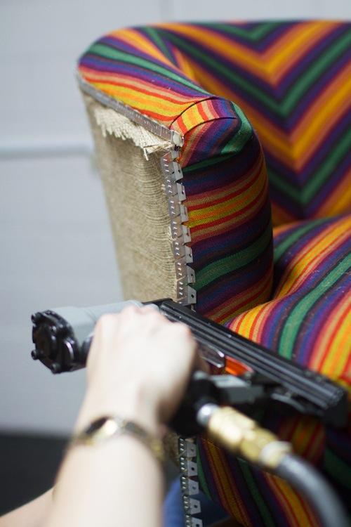 шить чехол на кресло своими руками