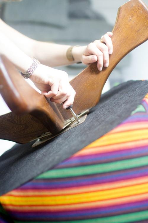 изготовить своими руками чехол на кресло