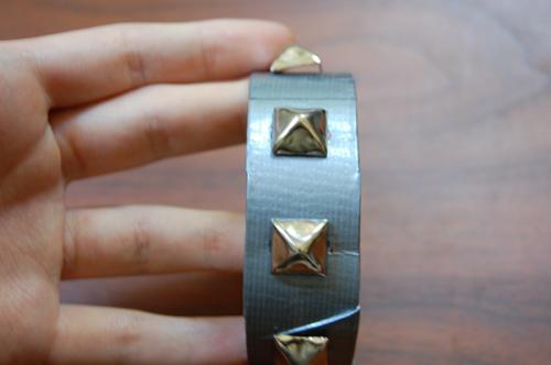 модный кожаный браслет своими руками