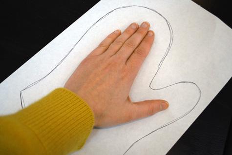Как сшить варежку своими руками