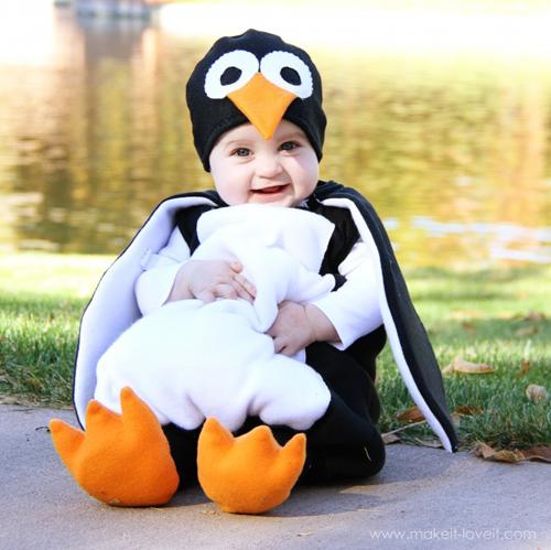 костюм пингвина своими руками