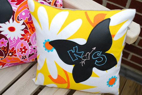 детские декоративные подушки готовы