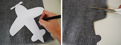 распечатываем шаблон детской подушки