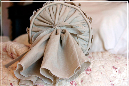 подушки валики своими руками