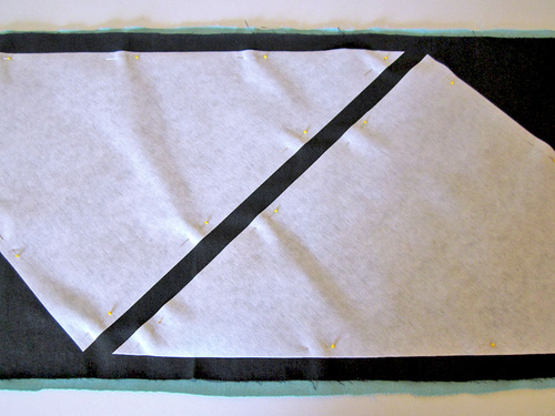 пошив декоративной наволочки из ткани