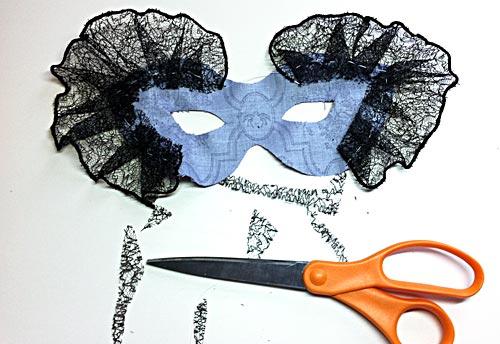 Как сделать самим карнавальный маски