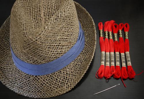 как украсить шляпу своими руками для конкурса
