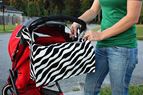 сумка для коляски своими руками