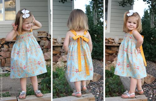 Как связать своими руками детское платье крючком