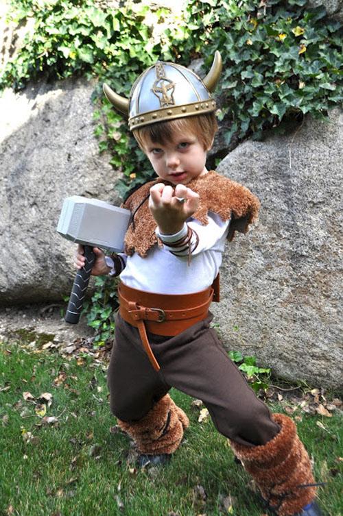 яркий костюм викинга своими руками