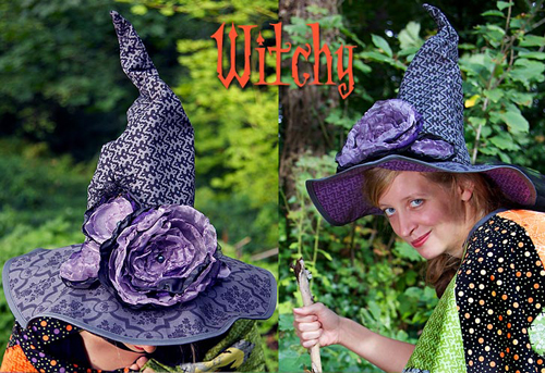 Шляпа ведьмы мастер класс + видео #3