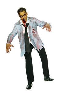 Костюм зомби хэллоуин своими руками