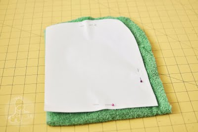 Сшить из полотенца для ребенка 33