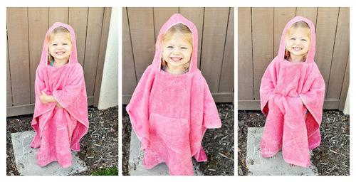 Как сшить детское полотенце-пончо Просто Мама 62