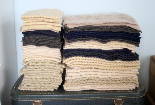 Сшить своими руками одеяло из шерсти