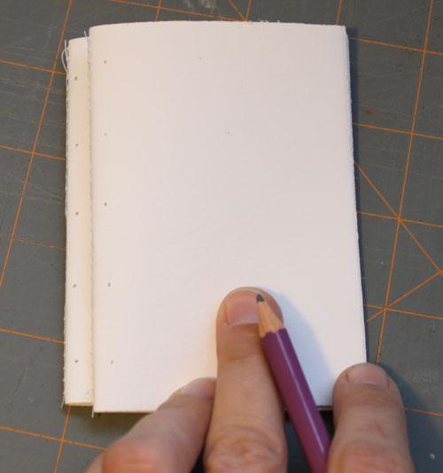 Как сделать блокнот своими руками из бумаги сшивания