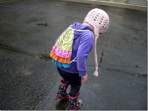 Детский рюкзак своими руками - Ручная