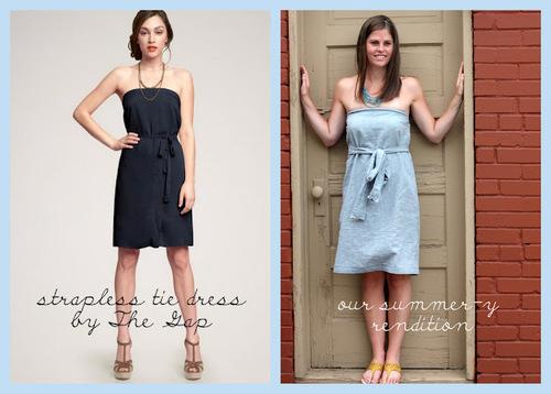 Как сшить платье на бретельках своими