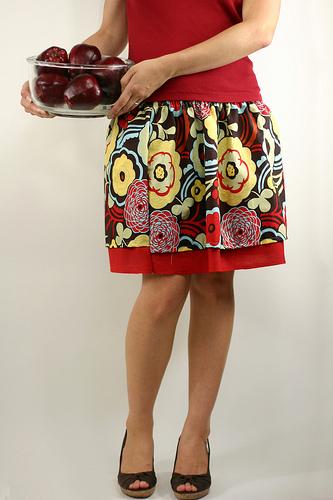 Сшить юбку простую на платье