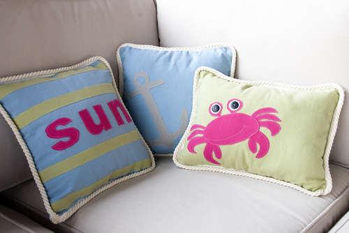 Декоративные подушки своими руками, мастер-класс