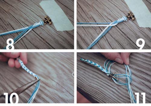 браслеты в морском стиле