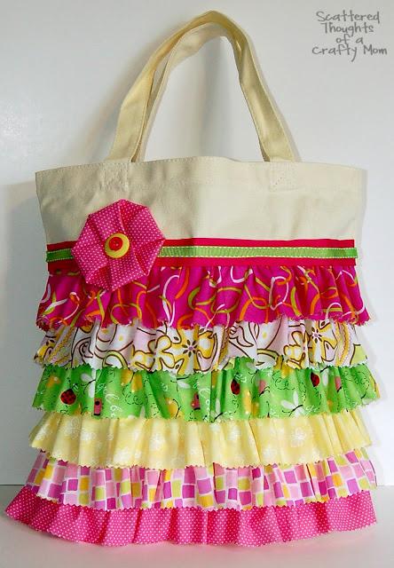 Детская летняя сумка своими руками