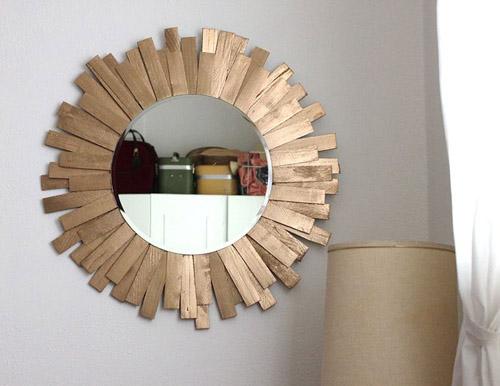 декор зеркала мастер класс