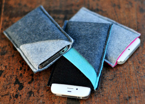 Как сшить чехол для телефона из ткани
