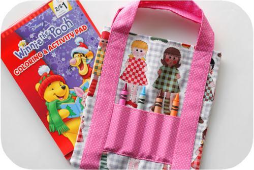 Осталось самое лёгкое, теперь Вы знаете, как сшить детскую сумку без затрат и усилий.