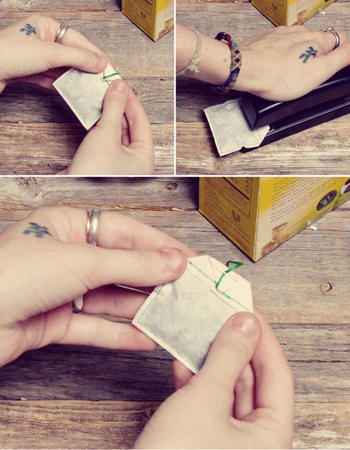 Пакетик для чая своими руками
