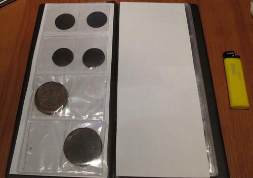 Альбом для монеты своими руками
