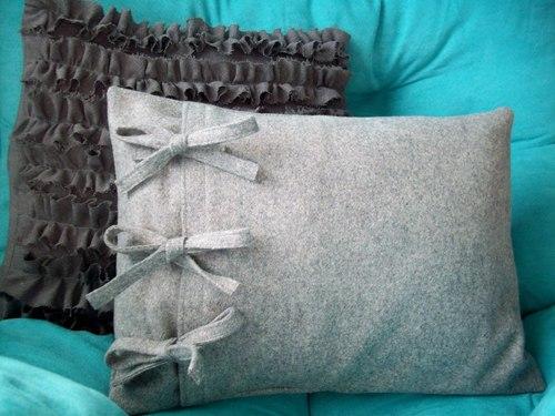 Наволочка на декоративную подушку своими руками фото