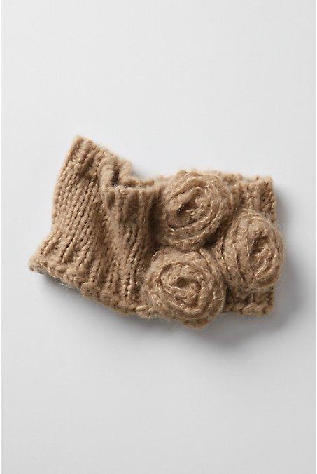 Зимняя повязка на голову своими руками