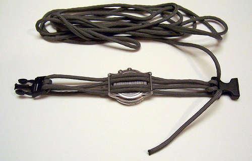 Ремешок для часов своими руками из шнурков