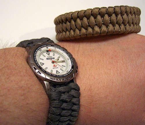 Ремешок для часов своими руками.