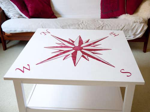 Рисунок на столе своими руками