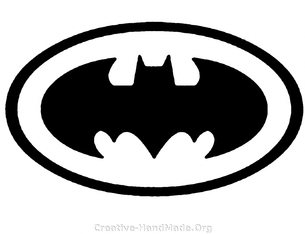 batman logo stencil cake ideas and designs